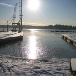 Vacker vinter varv