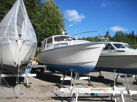2013 års första båt