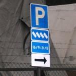 Äntligen blev det tillåtet med snedparkering!