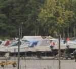 Lite trist känns det att se båtar på land.