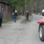 Här ser vi åtminstone två av IRS traktorförare som gärna vill byta upp sig!